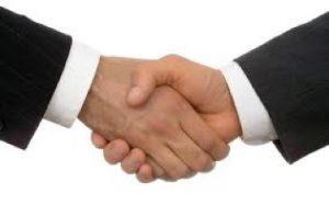 relaties verbinden handshake