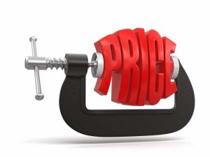 prijsdruk lage tarieven