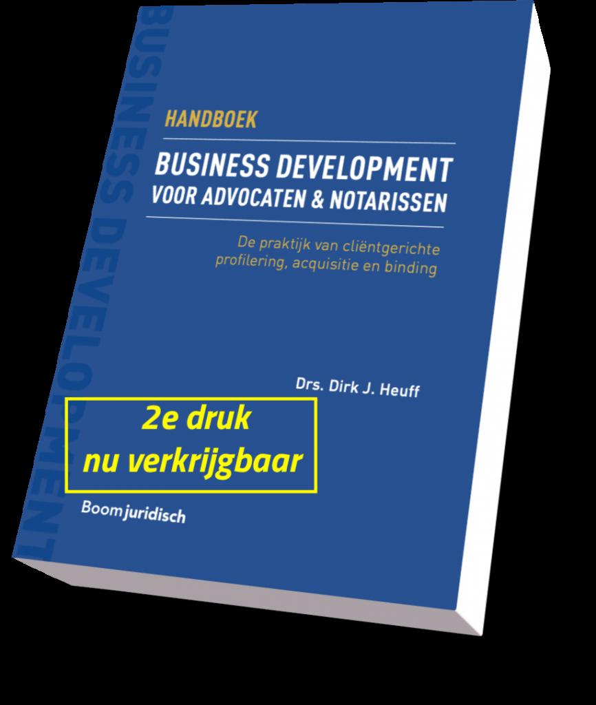 business development handboek voor advocaten en notarissen