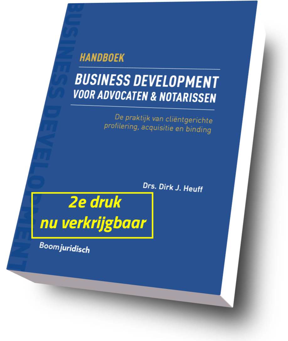 business development handboek voor advocaten en notarissen
