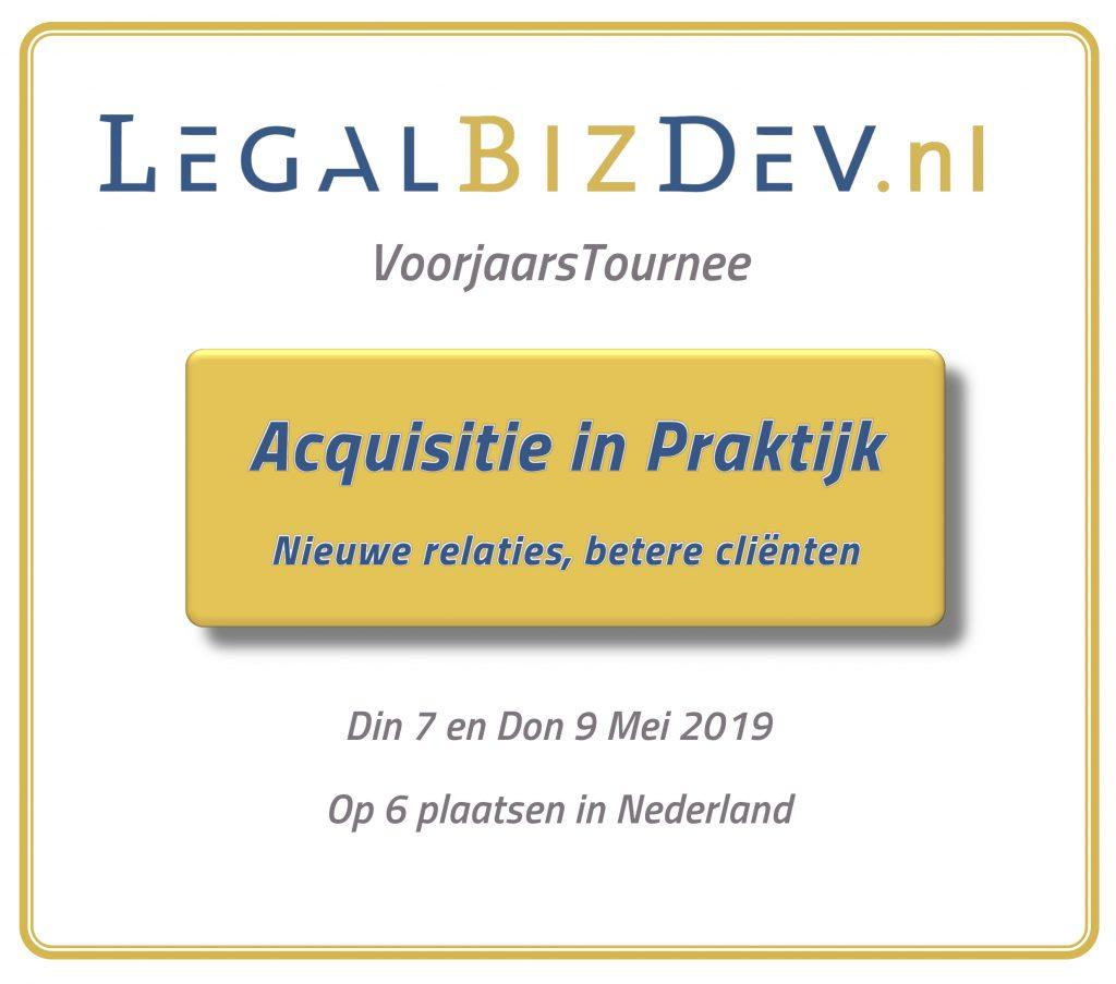 acquisitie in praktijk advocatuur notariaat