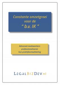 omzetgroei advocatuur notariaat praktijkontwikkeling BV IK