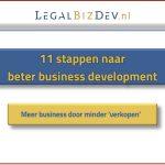 acquisitie klantenbinding advocatuur notariaat business development