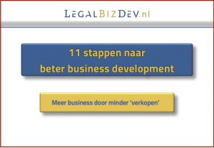 acquisitie klantenbinding advocatuur notariaat business development