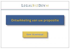 propositie advocatuur notariaat profilering acquisitie
