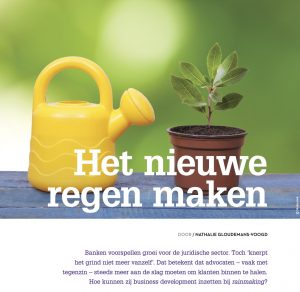 rainmaking advocatuur advocatenblad acquisitie marketing