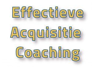 effectieve acquisitie coaching pragmatisch